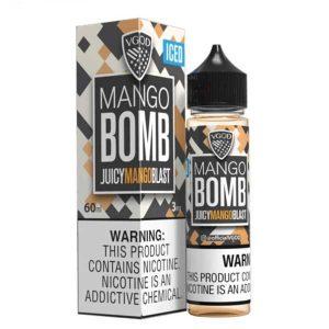 vgod iced mango bomb e-juice