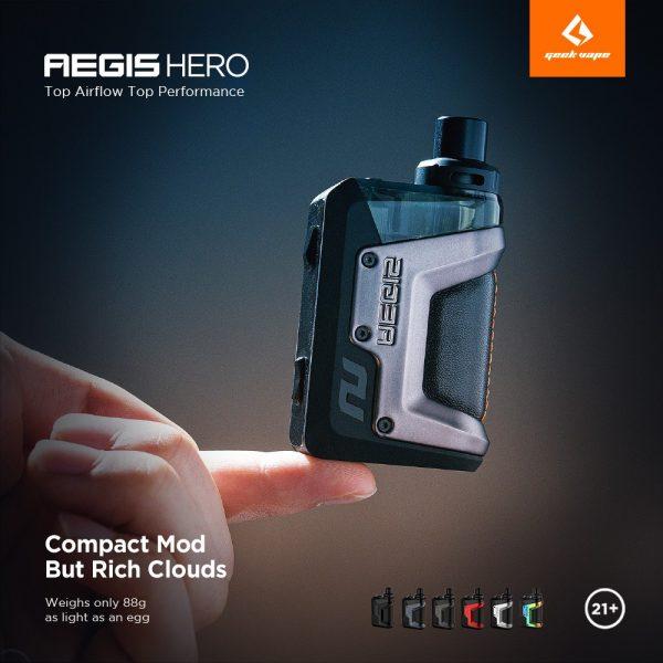 aegis hero pod mod kit 1200mah